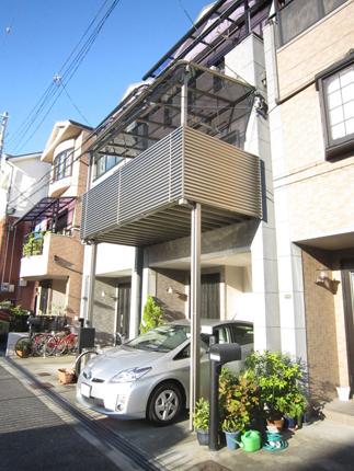 バルコニーテラスを新設して洗濯干しスペースに 大阪市
