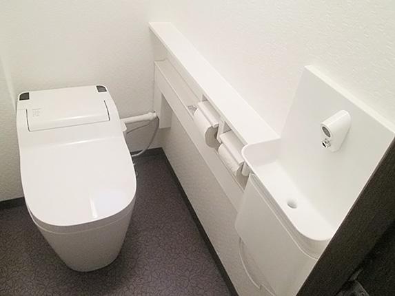 Panasonicアラウーノの全自動おそうじトイレ 神戸市