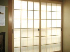 和室に調和する内窓 高槻市