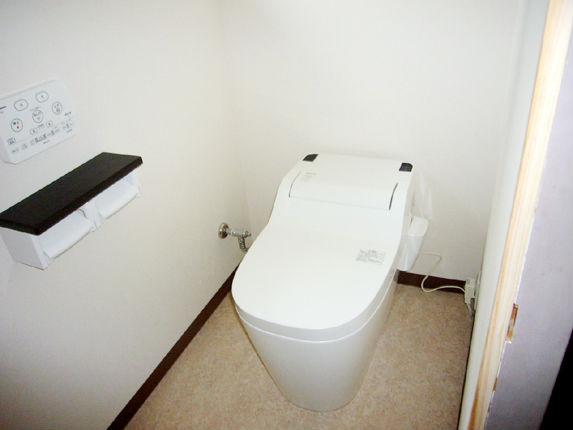 タイル貼りのトイレから『Panasonic アラウーノS』で快適なトイレ空間に 西宮市