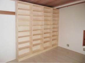 約2000冊もの本を収納できるおしゃれな本棚 吹田市