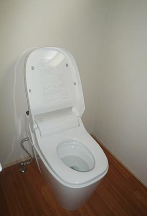 泡で汚れを落とす節水型トイレ アラウーノS 堺市