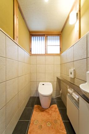 日本家屋を活かしたトイレ 宝塚市