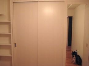 使い勝手の良い壁面収納 神戸市