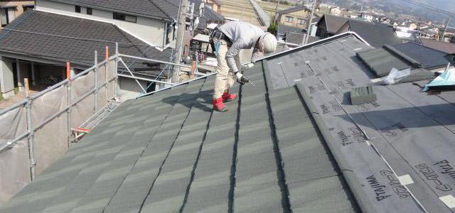 屋根の重ね葺き【イメージ】