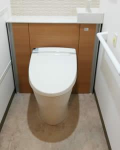 システムトイレ(収納一体型トイレ)[イメージ]