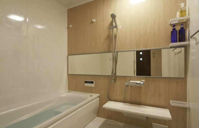 サイズアップして広々とした浴室 サザナ「タルシアベージュ」