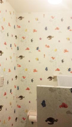 サンゲツの壁柄で子供が喜ぶ楽しい空間に