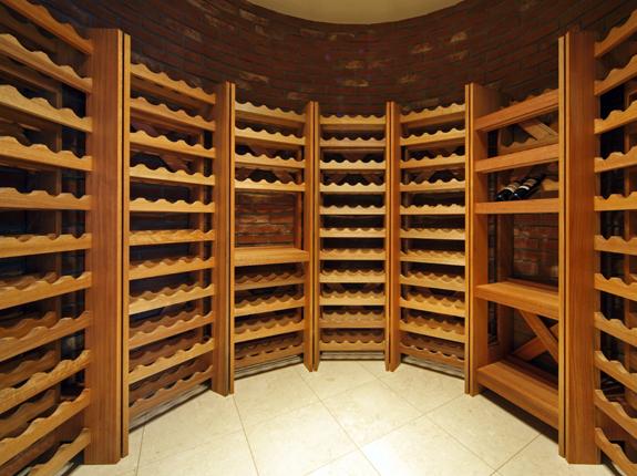 大容量のワインセラー
