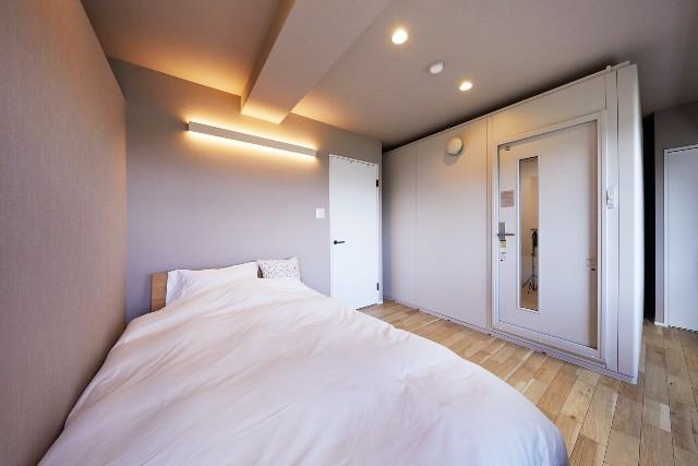 防音室の一体化で機能性と収納力が向上したプライベートルーム