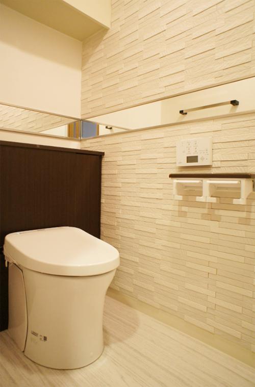 おしゃれなトイレにリフォーム壁紙の選び方お手入れ方法リフォーム